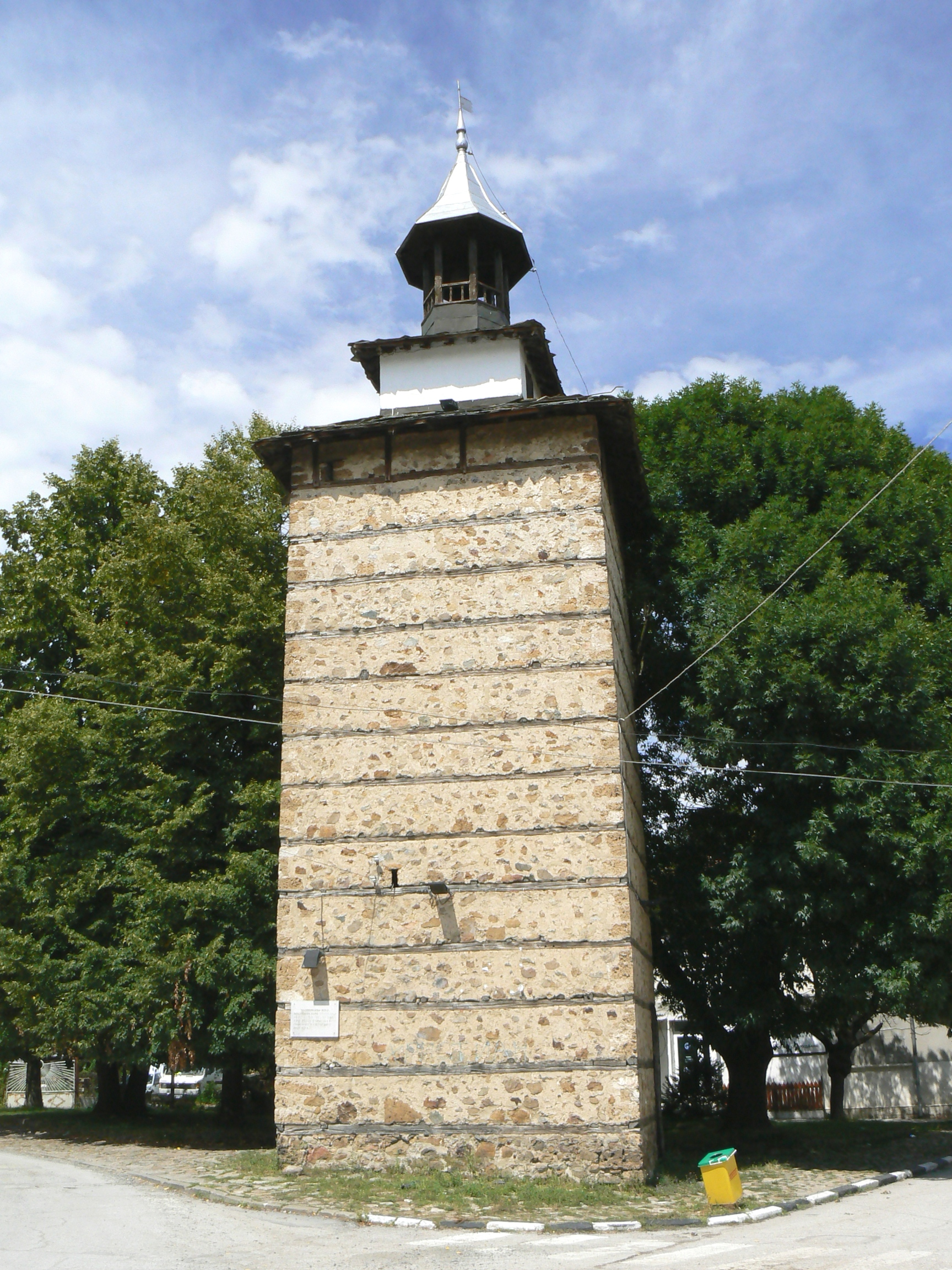 Etropole-clock-tower